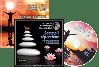 CD 2 titres SOMMEIL RÉPARATEUR + RESSOURCEMENT